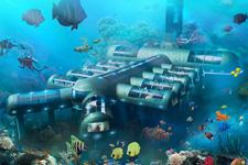 预定水下酒店客房?未来豪华水下酒店拟开建