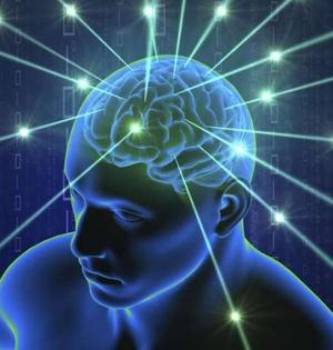 大脑脑电波能弱电场形式传递