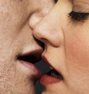 热吻每次可交换口腔8000万个细菌