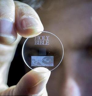 超人晶体可存储数据138亿年