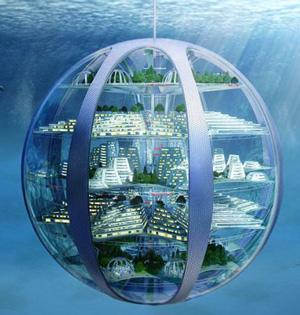 百年内水下城市太空度假成真