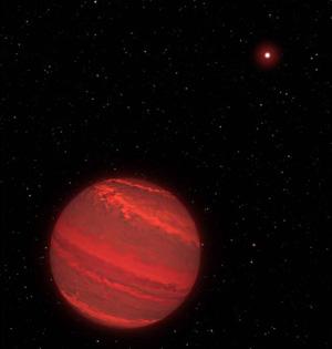 哈勃望远镜首测系外行星自转周期