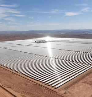 摩洛哥启动最大沙漠太阳能发电场