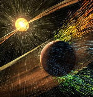 核动力宇宙飞船一个半月飞抵火星