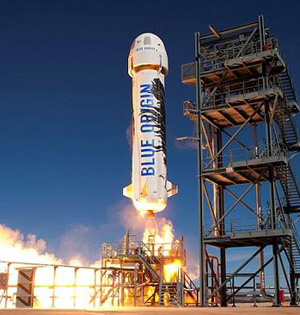蓝色起源2017年进行首次载人试飞