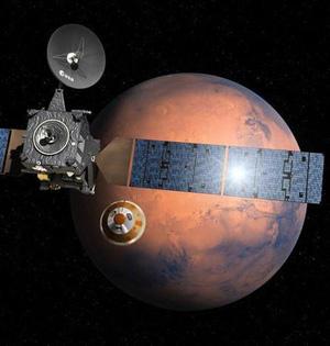 欧俄火星探测器将探测火星生命
