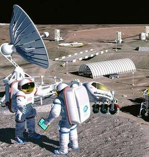 NASA科学家称10年内可建立月球村