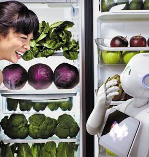 20年内人工智能机器人像手机普遍