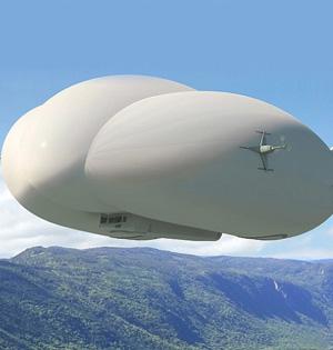 美研发重型飞艇:运送沉重货物