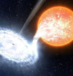天文学家观测7800光年黑洞喷流