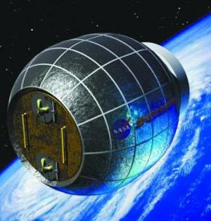 膨胀式太空舱:抵抗宇宙射线和垃圾