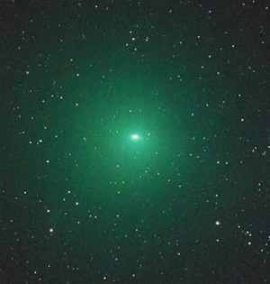 罕见绿彗星将光顾:比预估亮百倍