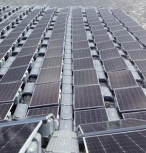 英建最大水上太阳能发电站