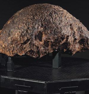 罕见巨型陨石估价达3170万元