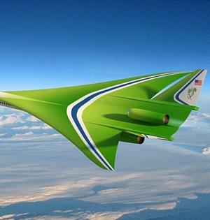 超音速飞机新时代:时速1.2万公里