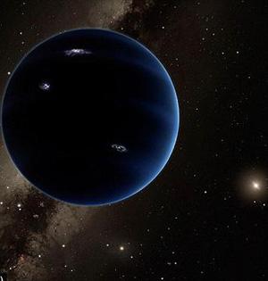 第九大行星存在新证据:轨道奇异