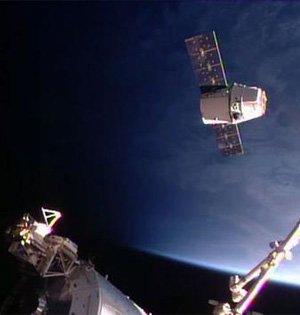 SpaceX完成国际空间站补给任务