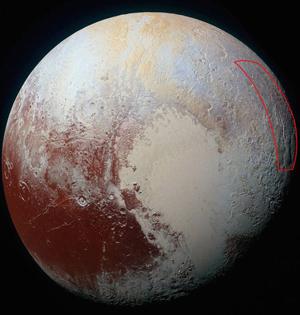 冥王星现巨型蜘蛛地貌:腿长580km