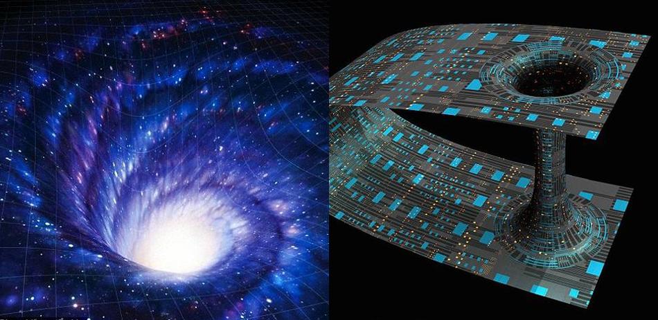 科学家或发现虫洞形成秘密:超大质量黑洞中添加少量暗物质