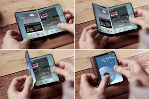 手机平板再无边界 三星推出可折叠设备