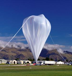 NASA释放53.2万立方米超压气球