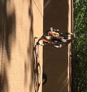 美国推出蜘蛛形无人机:能飞檐走壁