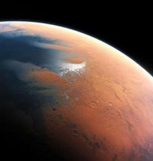 三十四亿年前火星曾发生海啸