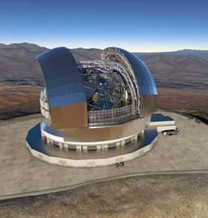 智利将建全球最大地基光学望远镜