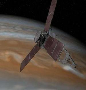 朱诺飞船飞过木星太阳引力平衡点