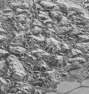 冥王星表面最清晰图像出炉