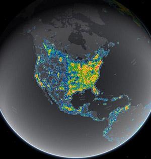 1/3人口受光污染无法看到星空