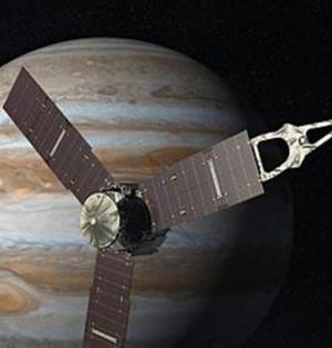 朱诺号探测器于7月初进木星轨道