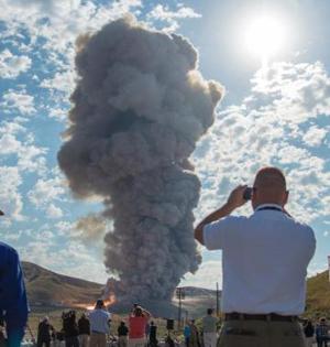 美航天局成功测试新型火箭推进器