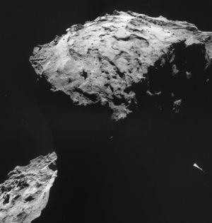 罗塞塔号9月底撞向彗星完成使命