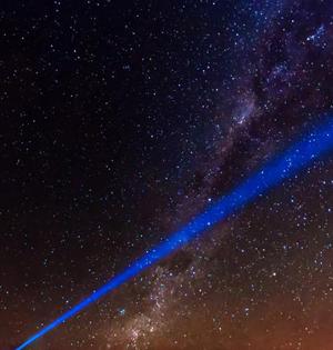 激光发送人类信息联系外星人?