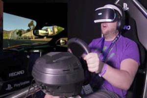 无限接近真实驾驶感受!索尼PS VR赛车游戏年内推出
