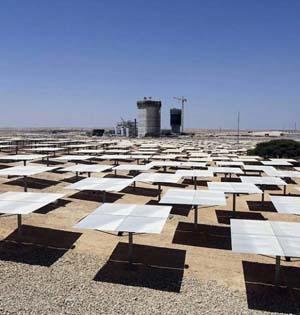 以色列建世界最高太阳能塔