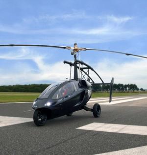 可飞行汽车或成真:不用受堵车之苦