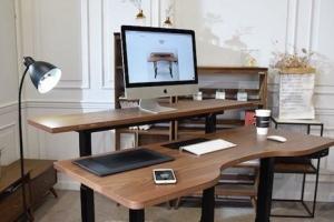 拯救职业病患者 Gaze Desk智能书桌简直是办公界的小天使