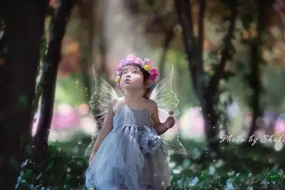 梦想的双翼 看妈妈如何用PS让宝宝变成小精灵