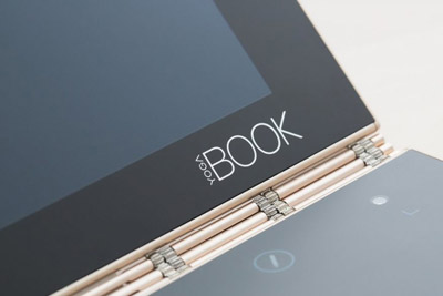 联想发布Yoga Book 用Wacom绘图板代替了键盘