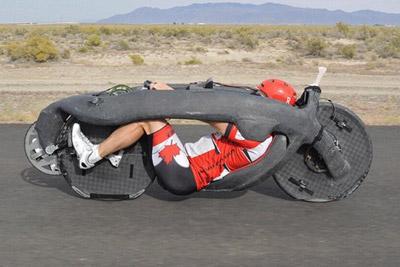 自行车时速新纪录144km/h 上高速都超速