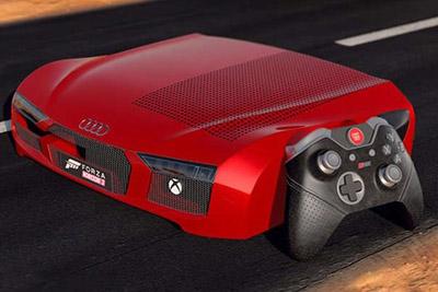 微软推跑车版Xbox One:全球限量仅三台