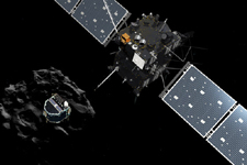 罗塞塔号探测器撞向彗星:12年探测之旅终结完成使命