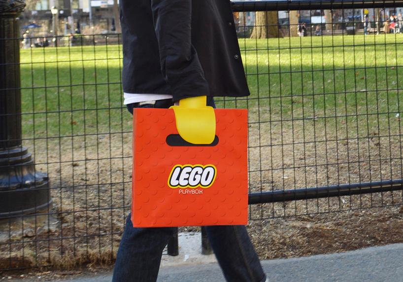 带你回到童年 乐高购物袋给你一双乐高玩具手