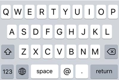 iPhone8/Plus打字更爽快?iOS8-10已包含完整单手键盘代码