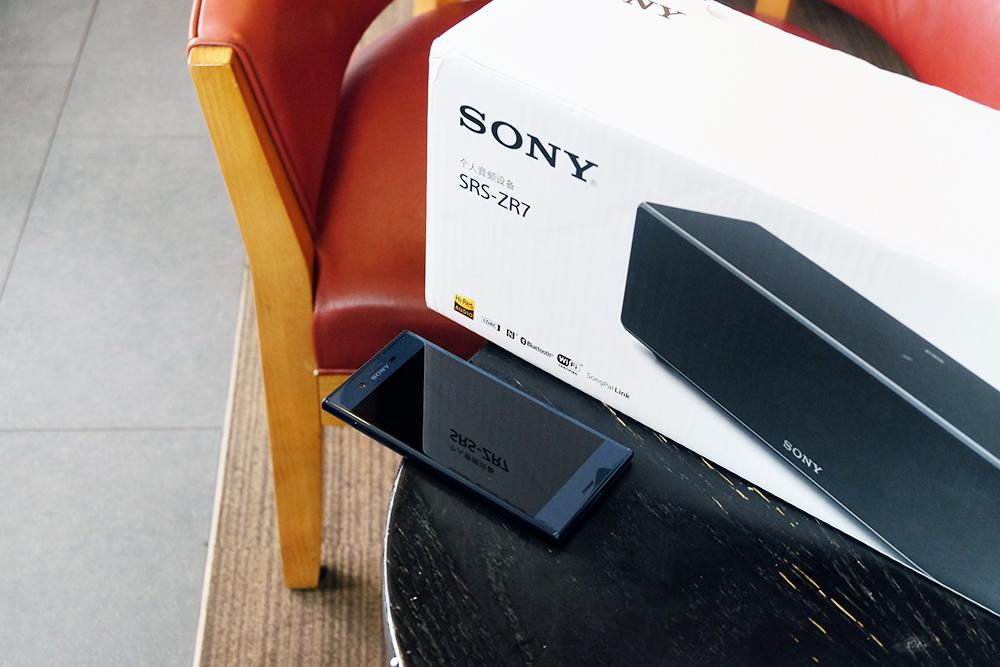 索尼ZR7无线音箱评测:在完全卖点中,找了个最实用的