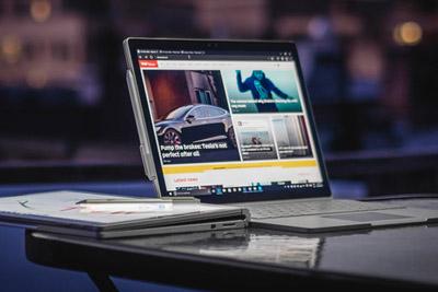 Surface销量暴增38% iPad惨淡十连跌