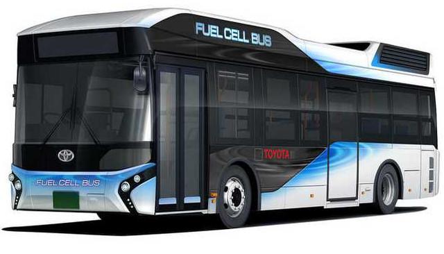 丰田将推出氢燃料大巴车 不仅环保还能紧急供电