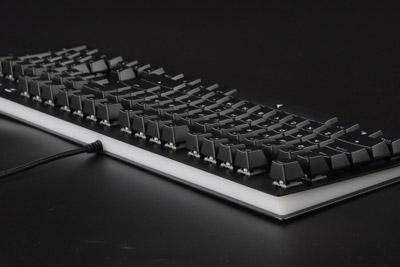 简约金属风 钛度金属师TKM300机械键盘评测